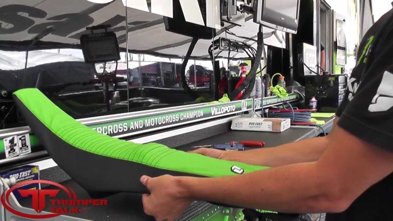 How To Install A Motorcycle Seat Cover With Kawasaki S