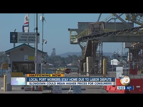 West Coast ports facing shutdown in labor dispute