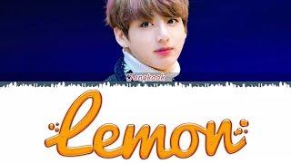 BTS JUNGKOOK - 'Lemon' (Cover) Lyrics [Kan_Han_Rom_Eng]