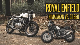2021 Royal Enfield Himalayan vs Continental GT 650 // Which would I choose?