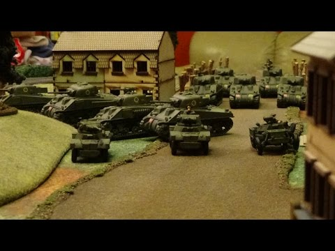 Flames of War Battle Report - SS Wiking vs 11th Armoured Division 1500pts