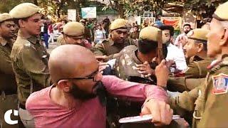 AISA, SFI clash with ABVP outside Delhi
