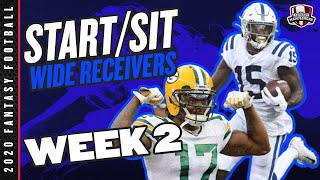 2020 Fantasy Football - Week 2 Wide Receivers - Start or Sit? Every Match Up