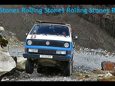 2016-03 Rolling Stones - VW Bus Vanagon T3 Syncro 4WD