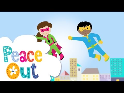 Peace Out Guided Relaxation for Kids | 11. Superhero Flying