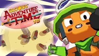 MEGA MOCARNY C4 CHARLIE | #023 | Bloons Adventure Time TD | PL