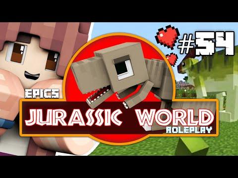 PARASAUROLOPHUS GOT A LOVELY FRIEND! Minecraft Dinosaurs Jurassic World RP (54)