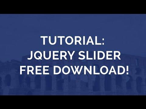Free slider jquery slider free download.