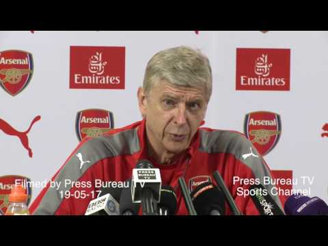 Arsene Wenger pre Arsenal vs Everton