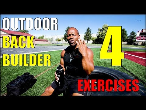 4 Outdoor Exercises for a Bigger Back and Biceps