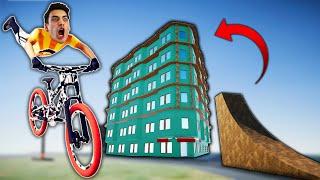 BIKING ON TOP OFF A SKYSCRAPER! (Descenders)