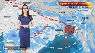 Weather Forecast for July 6: Rain in Mumbai, Kolkata, Gujarat, Madhya Pradesh, dry in Delhi