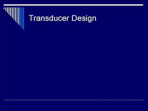 Physics Of Ultrasound: Transducers - Segment #1