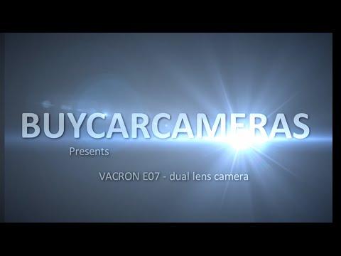 Buycarcameras VACRON E07 Dual Lens Camera