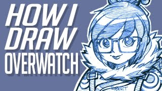 How I Draw Overwatch - Mei
