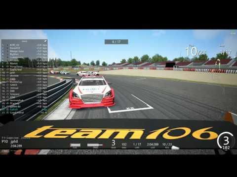 2016 CJ Korea Express Superrace Assetto Corsa Championship S01 R04 nurburgring