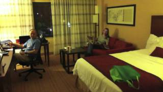 Hotel Tour: Courtyard Marriott Roanoke VA with filmer765