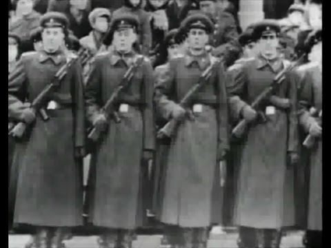 Soviet October Revolution Parade, 1963 Парад 7 Ноября