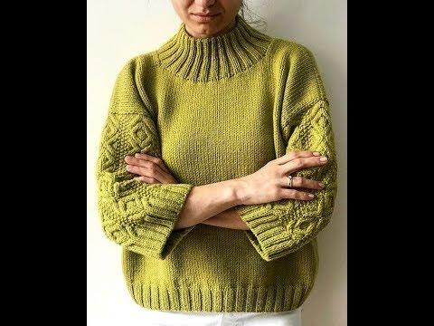 Женский Свитер Спицами - стильные модели - 2019 / Women's Sweater Knitting Stylish Models