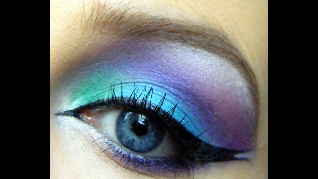 Mystical Mermaid Makeup