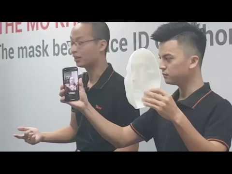 BKAV trình diễn HACK Face ID bằng mặt nạ !