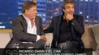 Ricardo Darin y Arturo Puig con Susana Gimenez