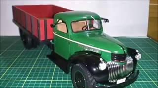 In this video I show this awesome 1946 Chevrolet Grain Truck, made ...