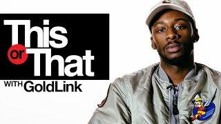 "GoldLink Plays ""This Or That"" 