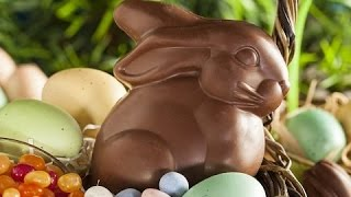 How To Make a Chocolate Easter Bunny [Reversed]