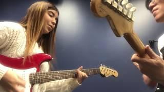 Смотреть клип Berklee Guitar private lesson / Jamming SUNNY with my student / Tomo Fujita онлайн