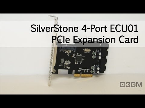 #1647 - SilverStone 4-Port ECU01 PCIe Expansion Card Video Review