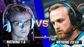 n0thing CS 1.6 vs n0thing CS:GO