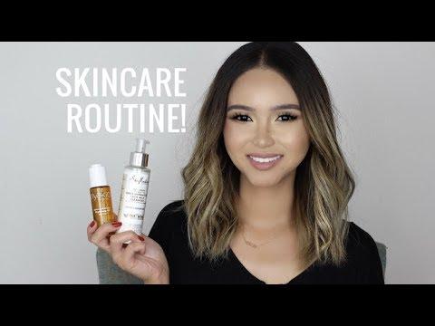 Current Skincare Routine! (Acne & Dry) All-Natural/Organic/Cruelty-Free | TERI MIYAHIRA