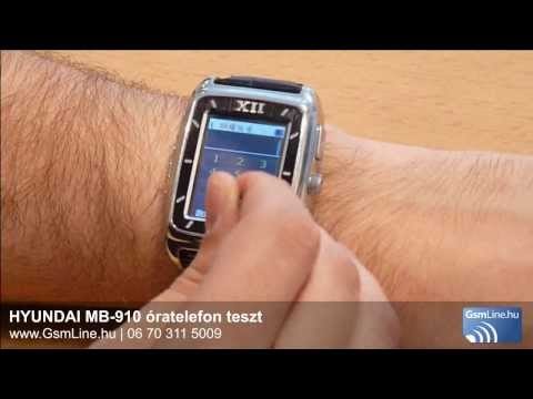 HYUNDAI MB-910 teszt videó | http://www.gsmline.hu