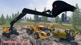 "[""Mining Equipment"", ""Excavator"", ""Truck"", ""Ai Cave"", ""FARMING SIMULATOR 17"", ""FARMING SIMULATOR 17 Mods"", ""FARMING SIMULATOR 2017"", ""Farming Simulator 2017 Mods"", ""Landwirtschafts-Simulator 17"", ""Volvo EC300E"", ""VOLVO A40G"", ""volvo mods"", ""excavators mod"
