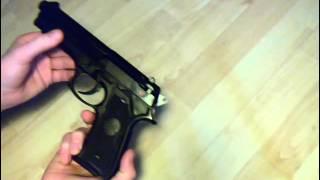 Beretta M9 Softair Reviw (Preis 20€) [0,5Joule]