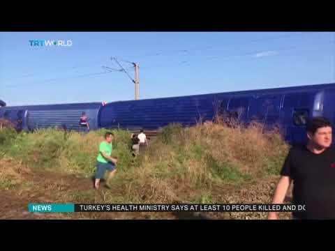 At least killed, 73 injured in train derailment in Turkey