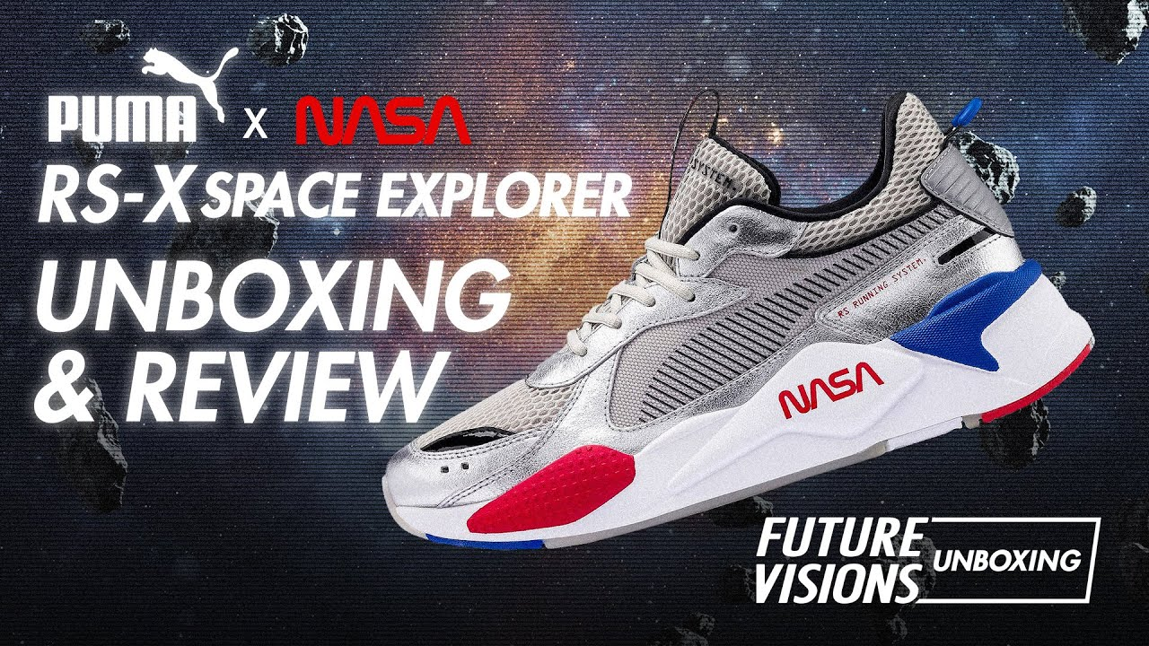 UNBOXING & REVIEW PUMA NASA RS-X