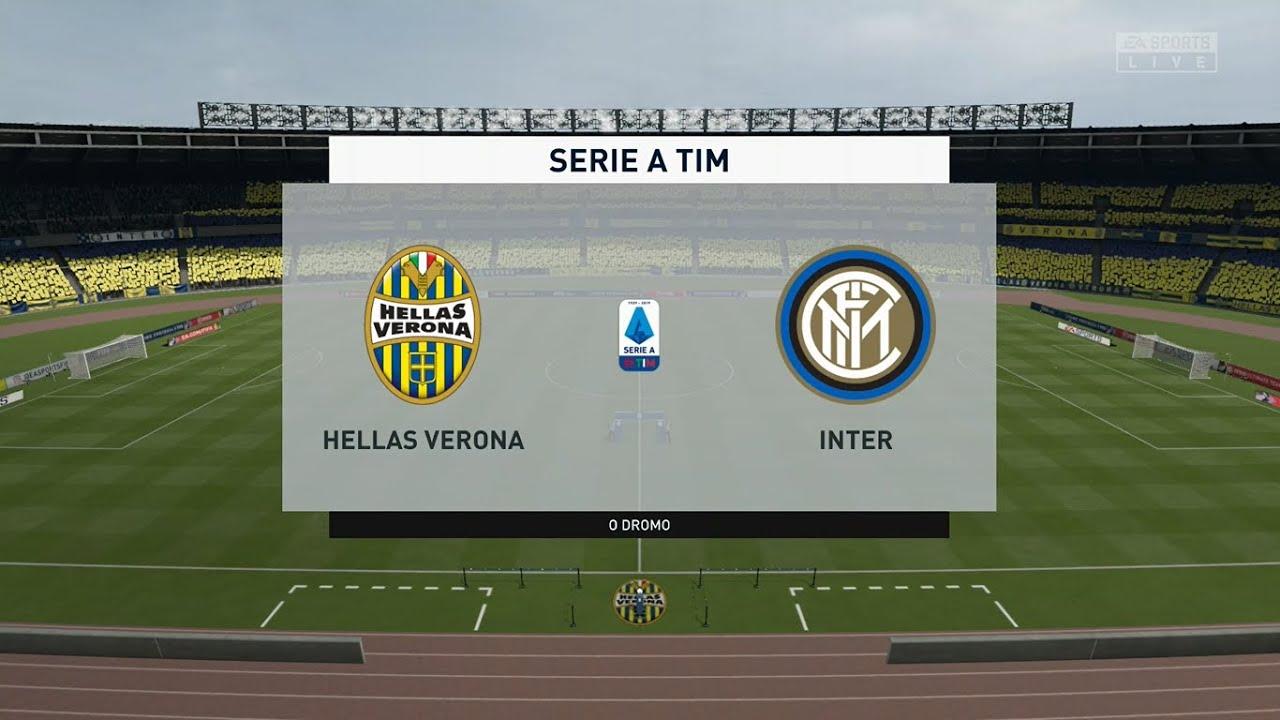 Hellas Verona vs Inter Milan ⚽ | Serie A (09/07/2020 ...