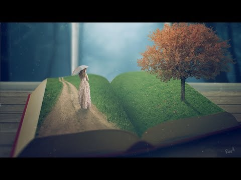 Story Book - Photoshop manipulation Tutorial
