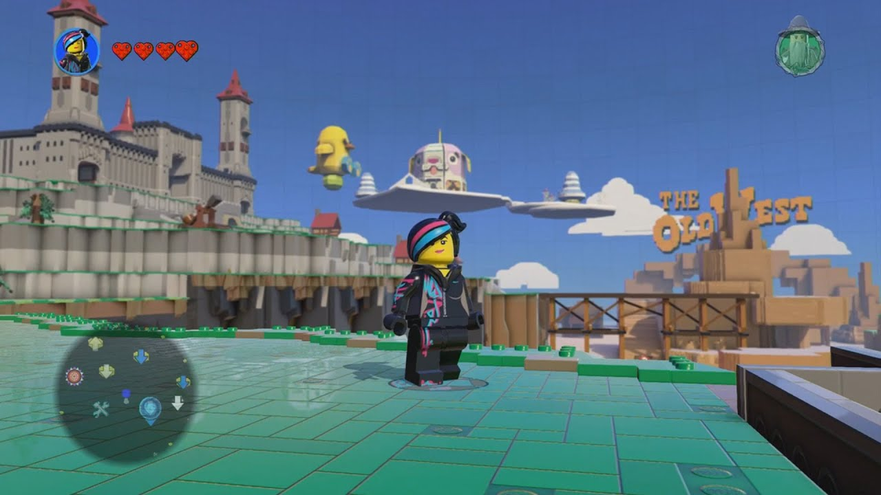 LEGO Dimensions - LEGO Movie World - Open World Free Roam Gameplay ...