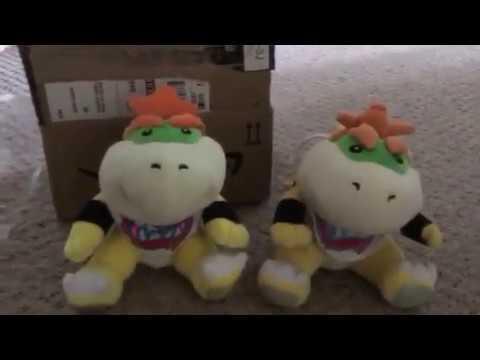 Official Sanei Bowser Jr Plush Unboxing