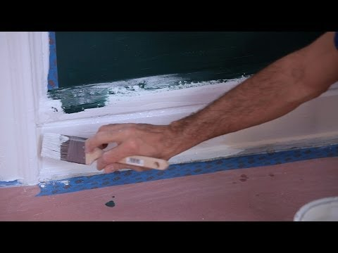 How to Paint Trim & Molding | House Painting