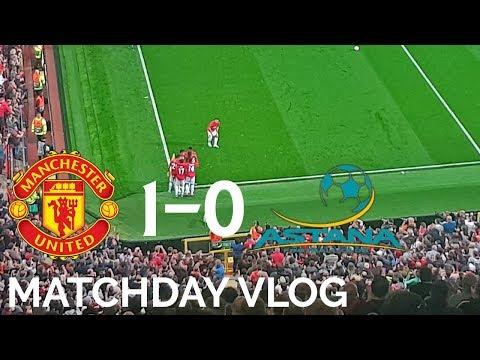 Rojo's Epic Rabona! 🔥😂 | Manchester United 1-0 FC Astana | Matchday Vlog