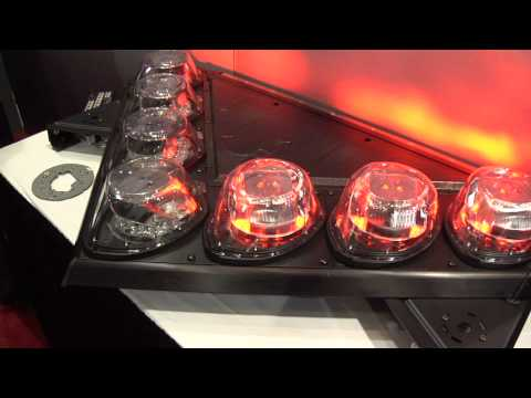 Microchip Demonstrates New Federal Signal Light Bar (ESC Chicago 2010)