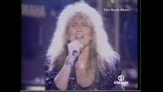 Whitesnake - Still Of The Night (Live at MTV MVA 1987)