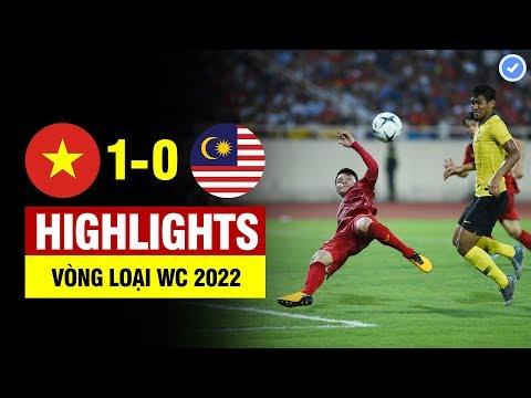 Highlights Việt Nam 1-0 Malaysia | Quang Hải vô lê đẳng cấp thế giới