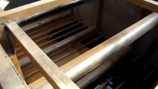 Линия (оборудование) по производству рубероида (еврорубероида0(Закачиваем в новую ванну битум перед запуском., 2015-01-05T10:40:15.000Z)