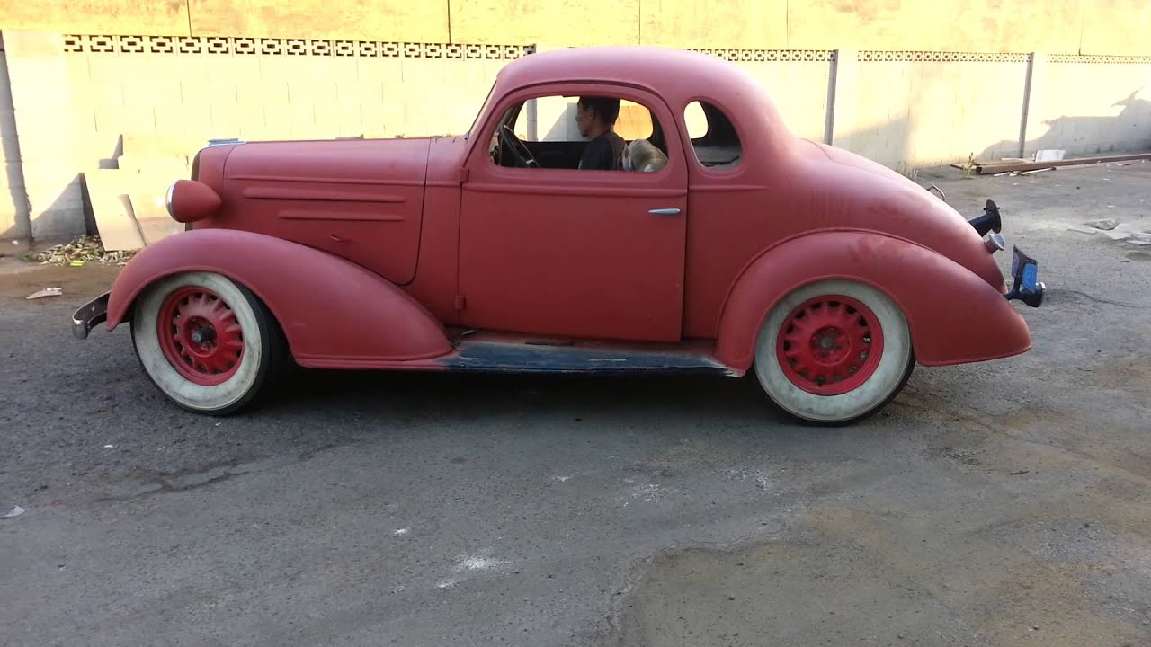 1936 chevy coupe youtube for 1936 chevy 5 window coupe