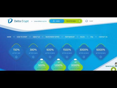 (SCAM) DeltaCrypt.biz - Crypto Trading Specialist